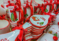 Hand Made Decorations At Market For Christmas Month Royalty Free Stock Images - 80642909