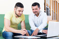 Two Men With Documents Stock Photo - 80645100