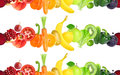 Fruits And Vegetables Seamless Pattern Royalty Free Stock Photos - 80660308