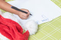Letter To Santa Claus Royalty Free Stock Photography - 80684127