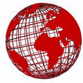 Red Globe Royalty Free Stock Image - 8075276