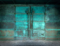 Mysterious Doors Of Copper Royalty Free Stock Photography - 80717617