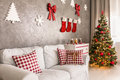 Christmas Living Room Stock Photo - 80723210