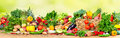 Organic Vegetables And Fruits Royalty Free Stock Photos - 80751988
