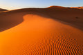 Colorful Evening Sun Light Shining On The Sand Dunes Of The Erg Stock Photography - 80755312