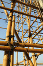 Bamboo Scaffolding Royalty Free Stock Photography - 8088587