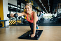 Beautiful Woman Working Out Stock Photos - 80801853