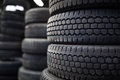 Tires For Sale At A Tire Store Royalty Free Stock Photo - 80832125
