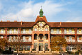Old German Guesthouse In Bathing Beach N1, Qingdao Royalty Free Stock Photo - 80834965