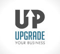 Logo - Upgrade Your Business Royalty Free Stock Photography - 80865587