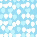 Retro Flat Balloons Pattern. Great For Birthday, Wedding, Annive Royalty Free Stock Image - 80899266