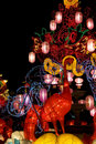 Chinese New Year Street Decoration Royalty Free Stock Photos - 8092058