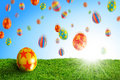 Egg In Grass Royalty Free Stock Photo - 8095595