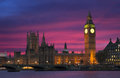 Iconic Sunset In London Royalty Free Stock Images - 80915889