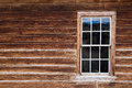 Historic Wooden House With Wood Framed Window Royalty Free Stock Images - 80919539