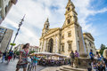St. Stephen Basilica In Budapest Stock Photo - 80943250