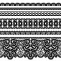 Lace Borders On White Royalty Free Stock Images - 80948369