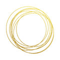 Golden Circles Abstraction Of Gold Foil And Glitter Royalty Free Stock Image - 80952436