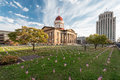 Illinois Old State Capitol Stock Photography - 80953282