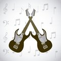 Electric Guitars Icons Royalty Free Stock Images - 80964769