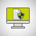 Internet Security Document Computer Protection Stock Photos - 80969433