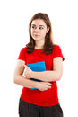 Woman Holding Book Stock Images - 80970064