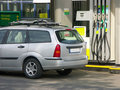 At The Petrol Station Stock Photo - 814820
