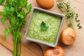 Green Sauce Stock Images - 81016934