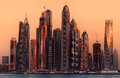 Dubai Marina Bay, UAE Stock Images - 81033494
