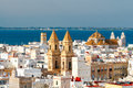 Cadiz. Aerial View Of The City. Stock Image - 81033791