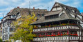 Strasbourg, Part Of Nice House In Petite France Area. Stock Photography - 81037342