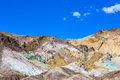 Artists Palette At Artists Drive In Death Valley Royalty Free Stock Photos - 81055118