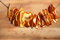Dried Apple Slices Stock Photography - 81056992