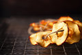 Dried Apple Slices Royalty Free Stock Image - 81058156