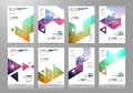 Set Of Brochure Templates, Flyer Designs Or Depliant Covers For Business Royalty Free Stock Image - 81125816