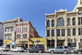 Buildings Along Champa St. In Curtis Park In Denver. Royalty Free Stock Photography - 81142617