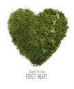 Green Forest Heart Royalty Free Stock Image - 81170846