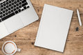 Blank Book Top View Royalty Free Stock Image - 81171556
