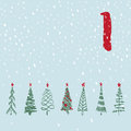 Page Advent Calendar 25 Days Of Christmas With Space For Text. Royalty Free Stock Photo - 81202885
