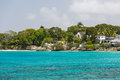 Residences Off The Coast Of Barbados Stock Image - 81204161