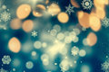 Abstract Christmas Background With Holiday Lights Royalty Free Stock Photography - 81246047