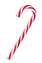 Candy Cane Isolated On White Stock Images - 81254234