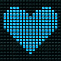 Dotted Heart Stock Photography - 8138512