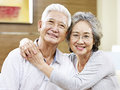 Portrait Of A Loving Asian Couple Royalty Free Stock Photo - 81305085