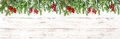Christmas Decoration Floral Holidays Banner Evergreen Tree Branc Stock Images - 81311834