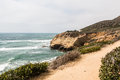 Cliffside Trail At The Point Loma Tide Pools Stock Images - 81354244