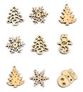 Christmas Decoration Wood On Isolated White. Ornaments Christmas Royalty Free Stock Photo - 81355935