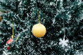 An Ornament Hanging In A Christmas Tree. Royalty Free Stock Photography - 81361167