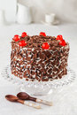 Black Forest Cake Royalty Free Stock Images - 81383639