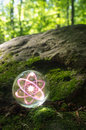 Atom Crystal Ball Nature Royalty Free Stock Images - 81418769